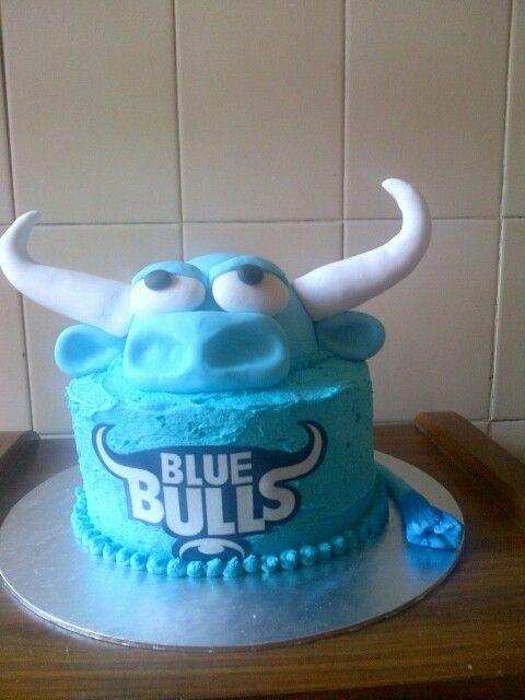 Blue Bulls Rugby team cake