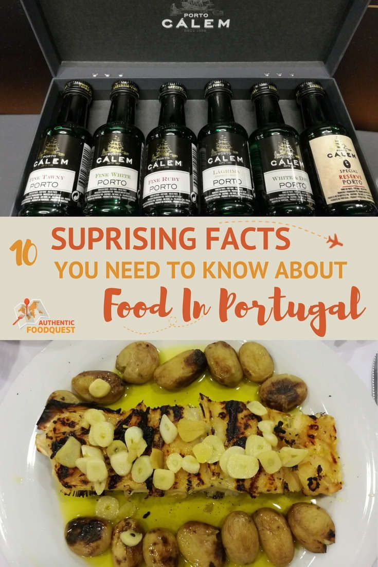 After a few weeks in the country, we've discovered much more than codfish and Porto. There is a lot to be said about the food in Portugal. Let's start here with some of the 10 surprising facts you need to know about the food in the Portugal.