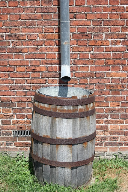 The barrel at Fort York!