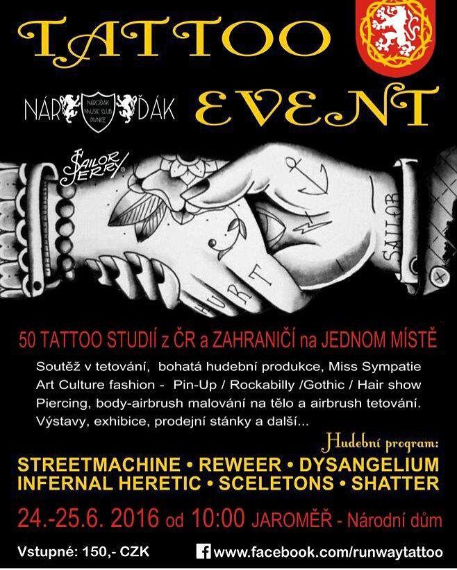 Festival tetování www.facebook.com/runwaytattoo #tattooart #hradeckralove #mandala #tetovani #pardubice #nachod #dvurkralove #opocno #jicin #dobruska #tattoo #watercolourtattoo #watercolor #trashpolka #feathertattoo #tribaltattoo #maoritattoo #realistictattoo #abstracttattoo #watercolourtattoo #dogtattoo #skulltattoo #rosetattoo #womantattoo #mantattoo #sexytattoo #biomechanicaltattoo #wolftattoo #angeltattoo #wingstattoo #birdtattoo  #cattattoo #horrortattoo  #maoritattoo #polynesia