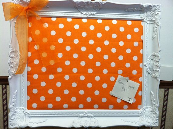 Football time in Tennessee!   UT Vols Display - Push Pin Board by KnoxvilleArt on Etsy, $75.00