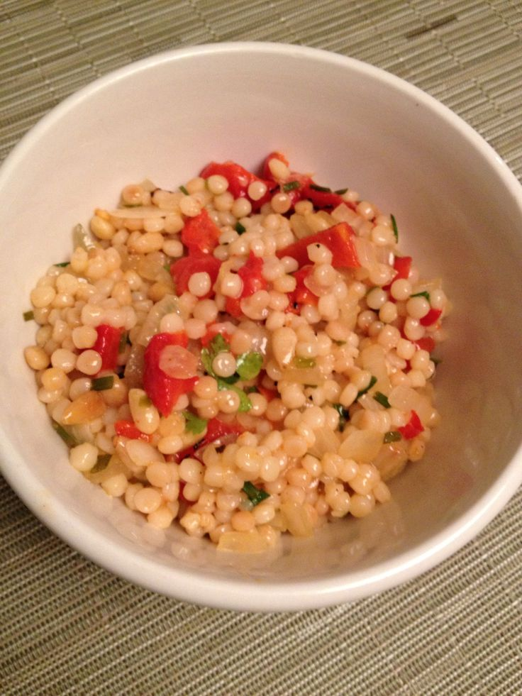 How to Make a Simple Ptitim (Israeli Couscous) Salad