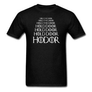 HODOR-Hold-the-Door-T-shirt-Game-of-Thrones-tee-euro-size-S-XXXL #gameofthrones