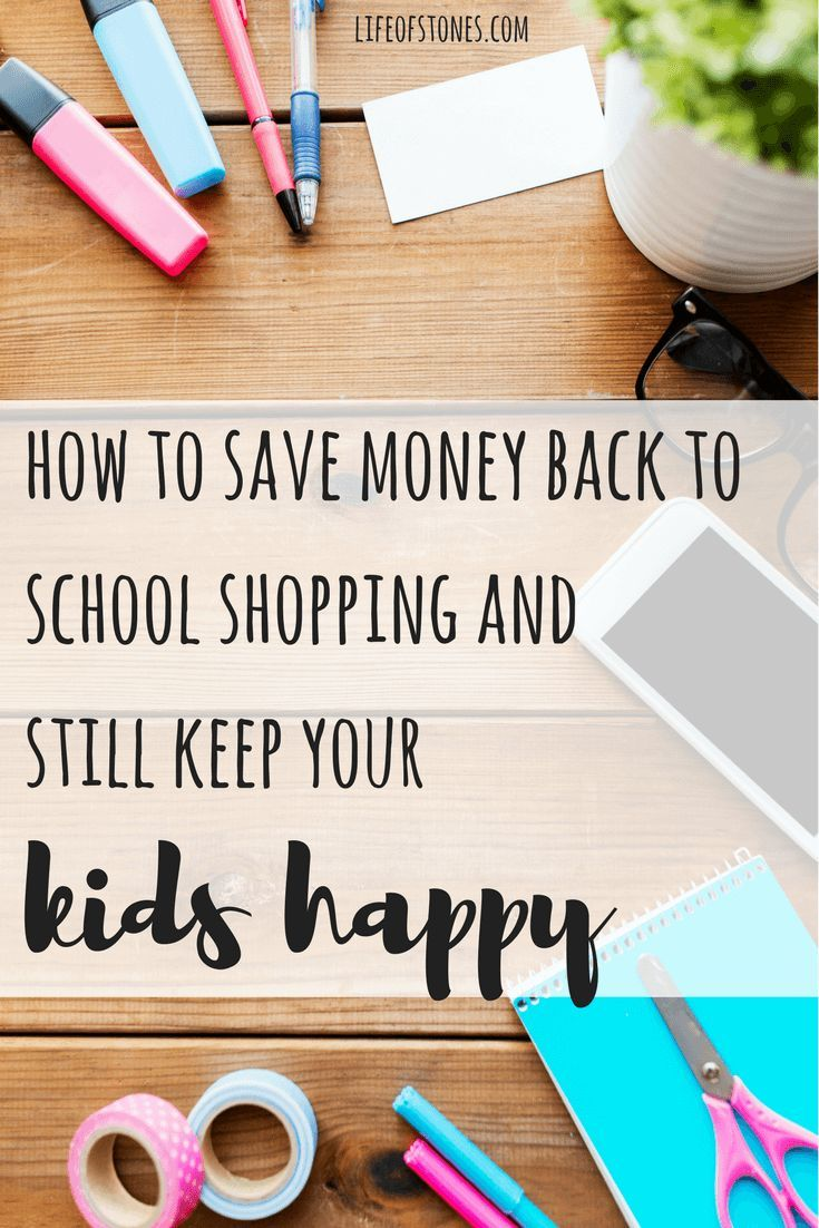 How to save money when back-to-school shopping – School Stuff