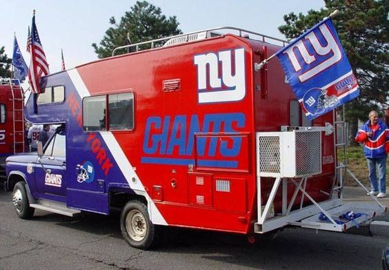 My idea of retirement and tailgating heaven!
