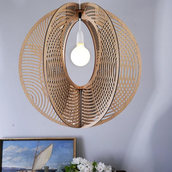 100% designed and made in Tasmania, the HOOP pendant design is influenced by the growth rings of trees. Comes in three timber veneers; Tasmanian Oak, Tasmanian Blackwood and Liquid Amber (Black) #designerlighting #lighting #modernlights #sculpture #pendant #bloompendant #australiantimber