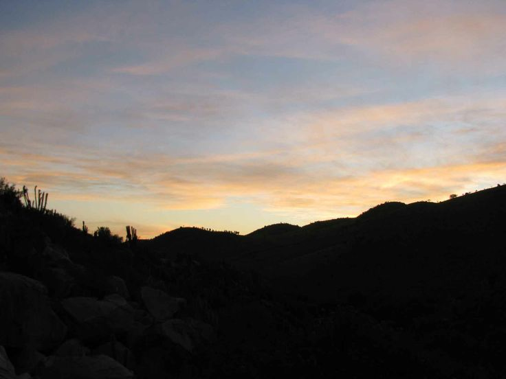 Otro cielo del atardecer en el Valle del Encanto. // Another sunset sky in the Valle del Encanto. (IV Región)