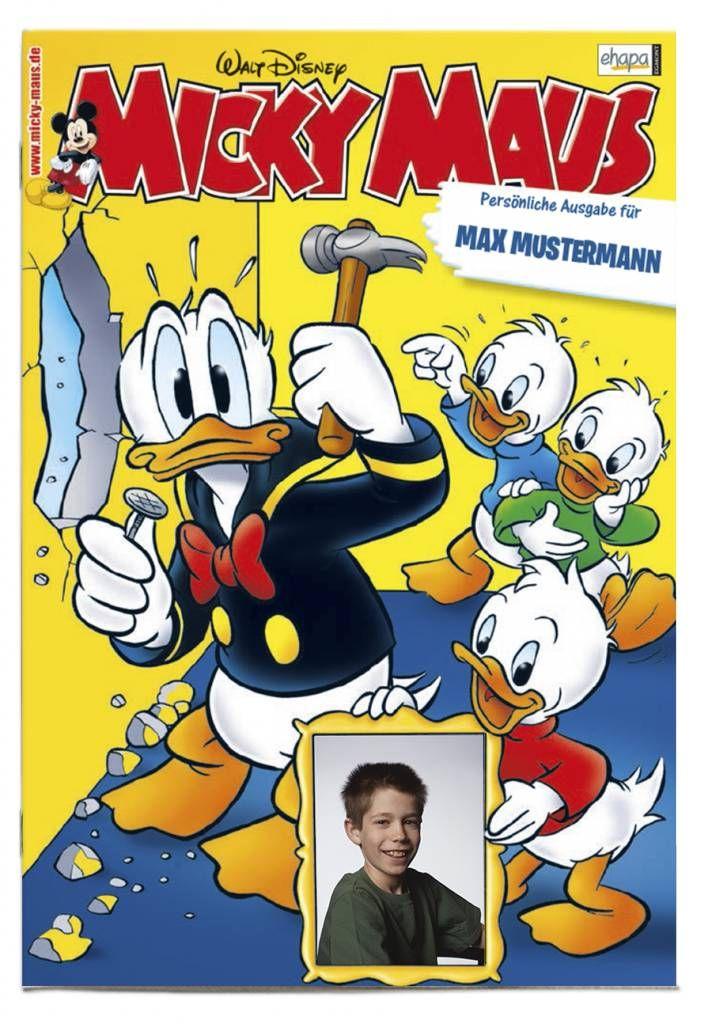 Personalisiertes Micky Maus-Magazin