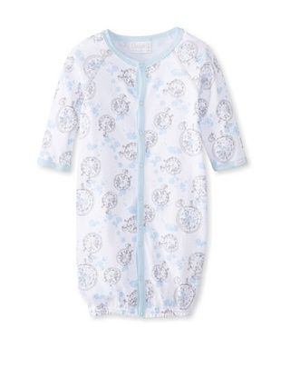 61% OFF Coccoli Kid's Converter Gown (Light Blue Compass Print)
