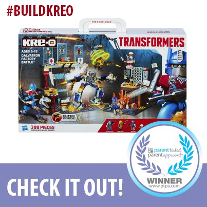 KRE-O Transformers is a PTPA Seal of Approval Winner. Check it out! http://bit.ly/1ml0Zbf