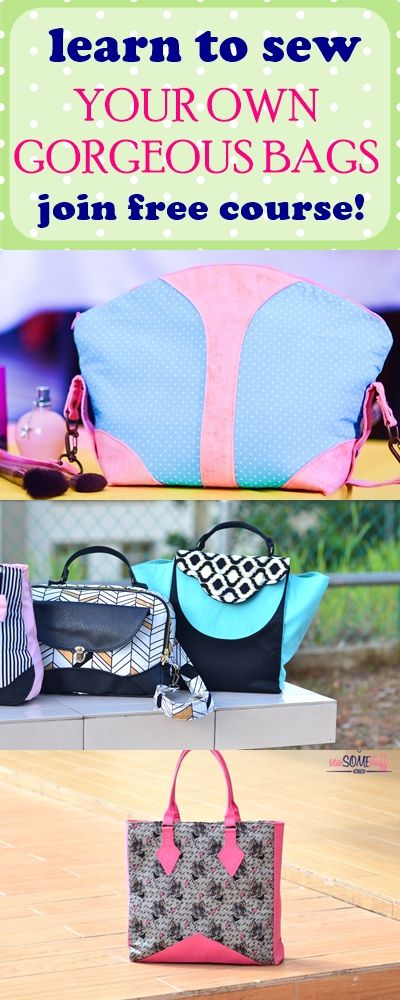purse sewing patterns | free handbag patterns | bag making patterns | free purse patterns