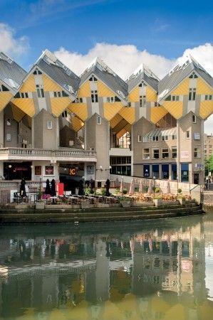 Rotterdam's Cube houses