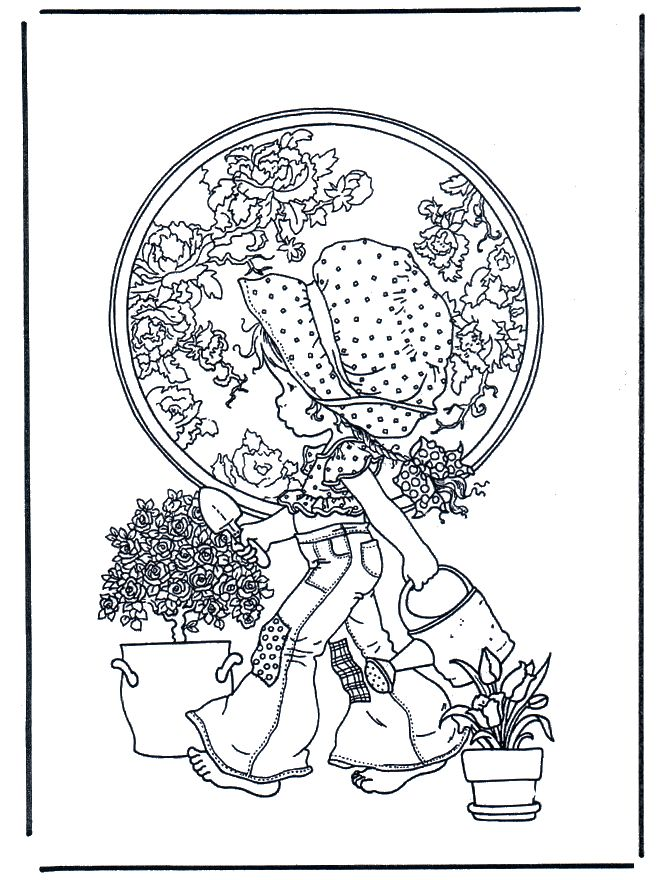 spring_47 Spring coloring pages for adults and teenagers