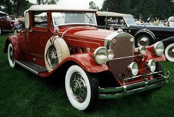 Tesla's 1930 Pierce Arrow Electric Automoblie