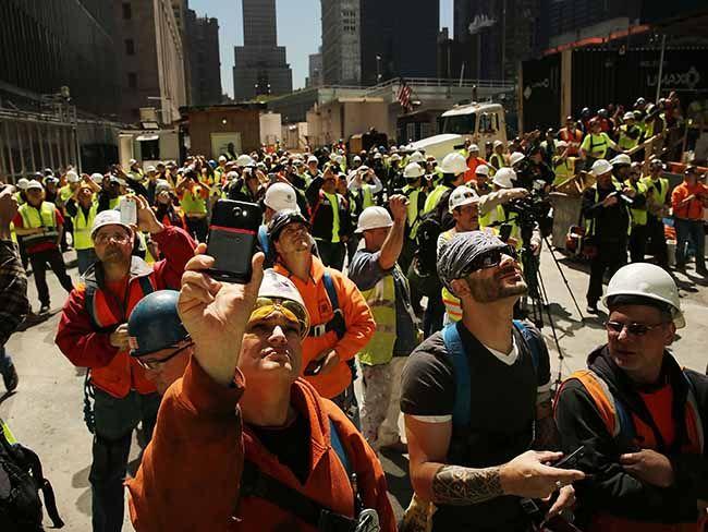 1 World Trade Center and the indomitable spirit of the Irish...