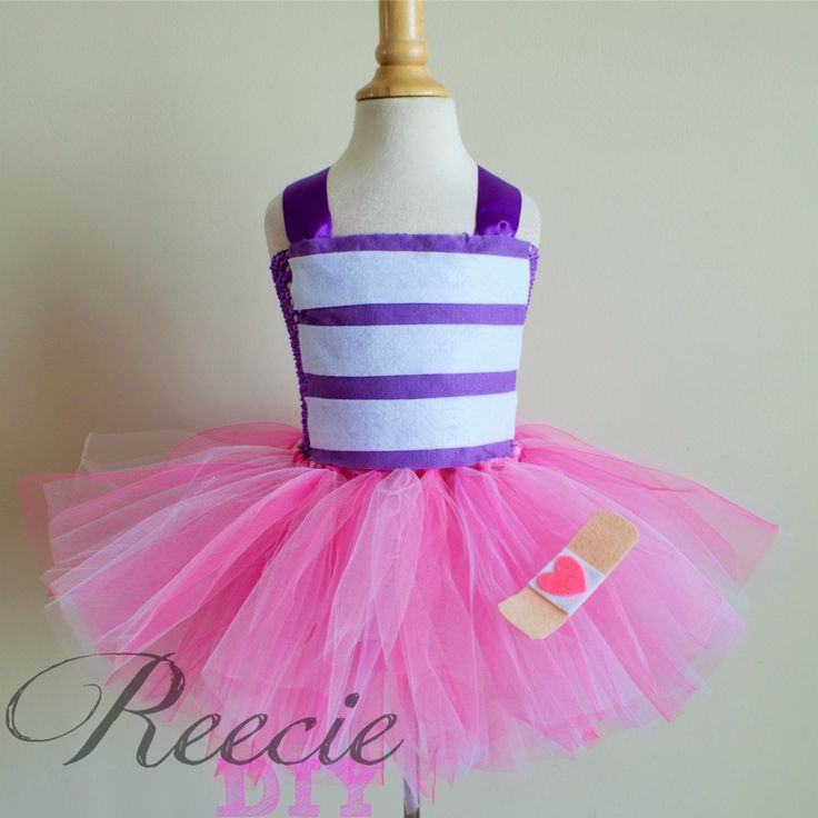 Doc McStuffins Inspired Tutu Dress