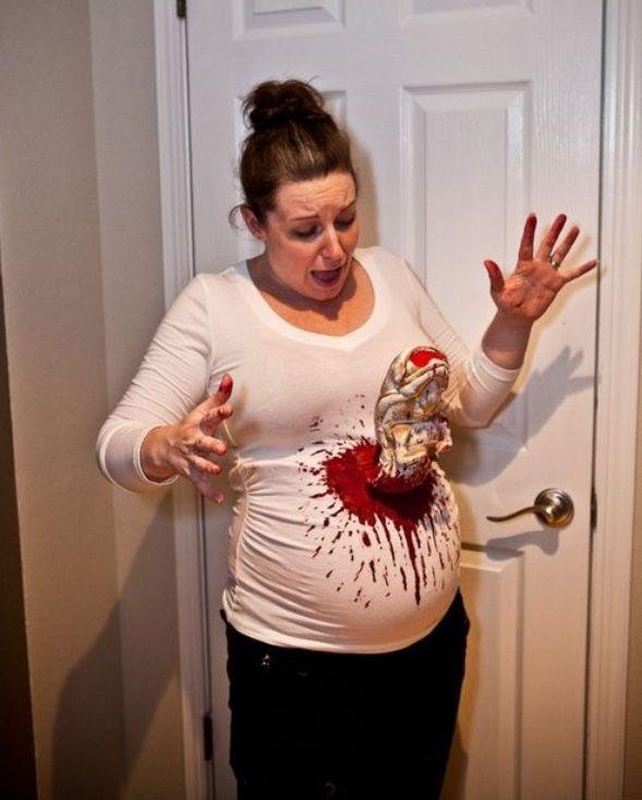 25 hete tips til halloweenkostymer for gravide mager! (Komikerfrue)