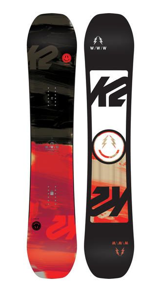 The K2 WWW snowboard is considered to one the best boards for jbbing the streets, parks and the whole resort. Availabile in Wide, what makes the board so good is the Tweekend continuous rocker in combination with K2s Freestyle baseline shape. #park #snowboarding #wide #snowboard #WWW