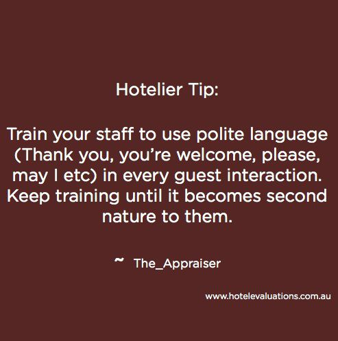 27 best images about hotelier quotes on Pinterest