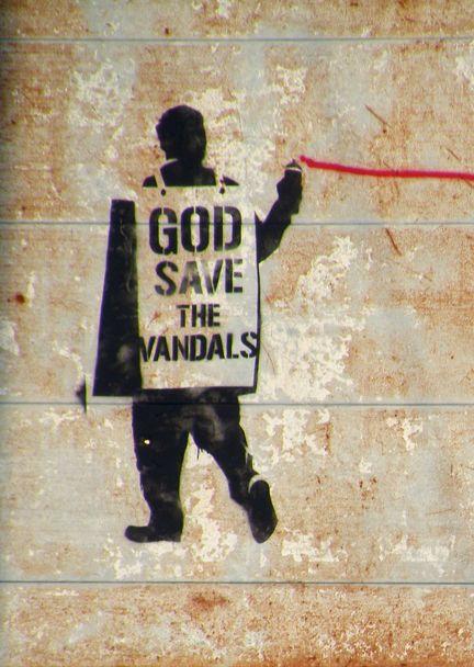 stencil art banksy - Поиск в Google