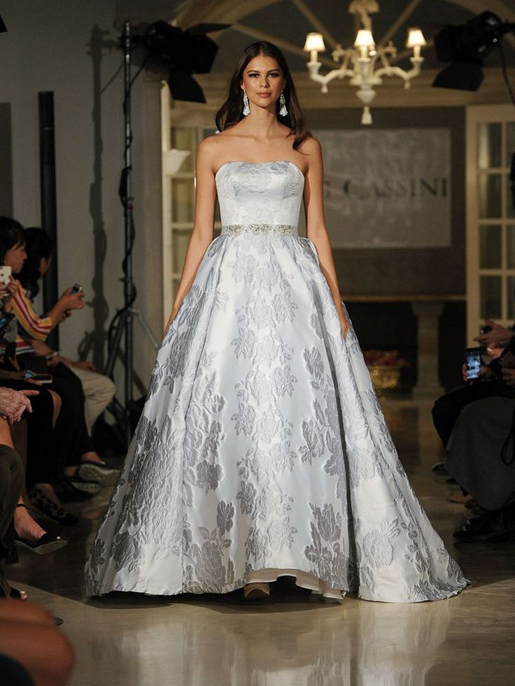 40 best Spring 2018 Runway // Oleg Cassini Wedding Collection images ...