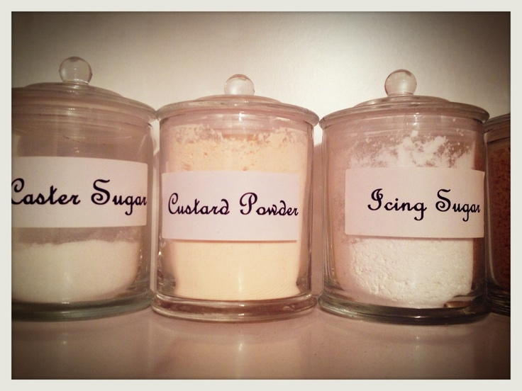 Empty Glasshouse candles used as canisters. #repurposed #glasshousecandles #kitchenstorage