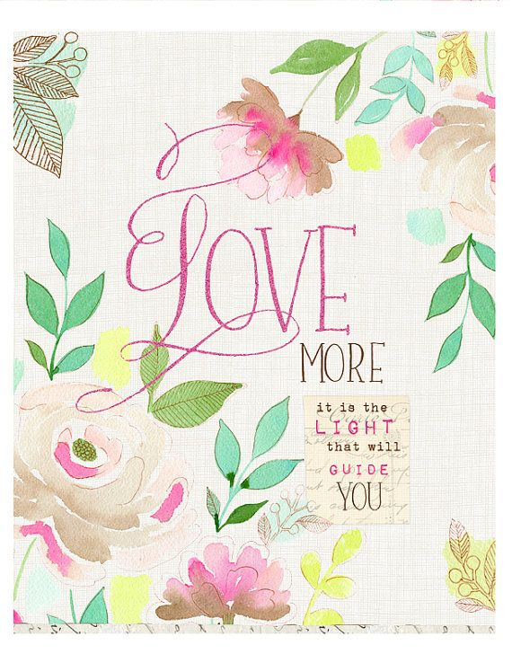 Vintage Love Art Print by stephanieryanart on Etsy, $22.00