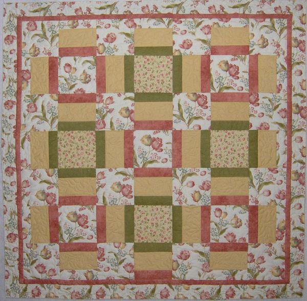 Quilt Patterns For Large Floral Prints Cafca Info For