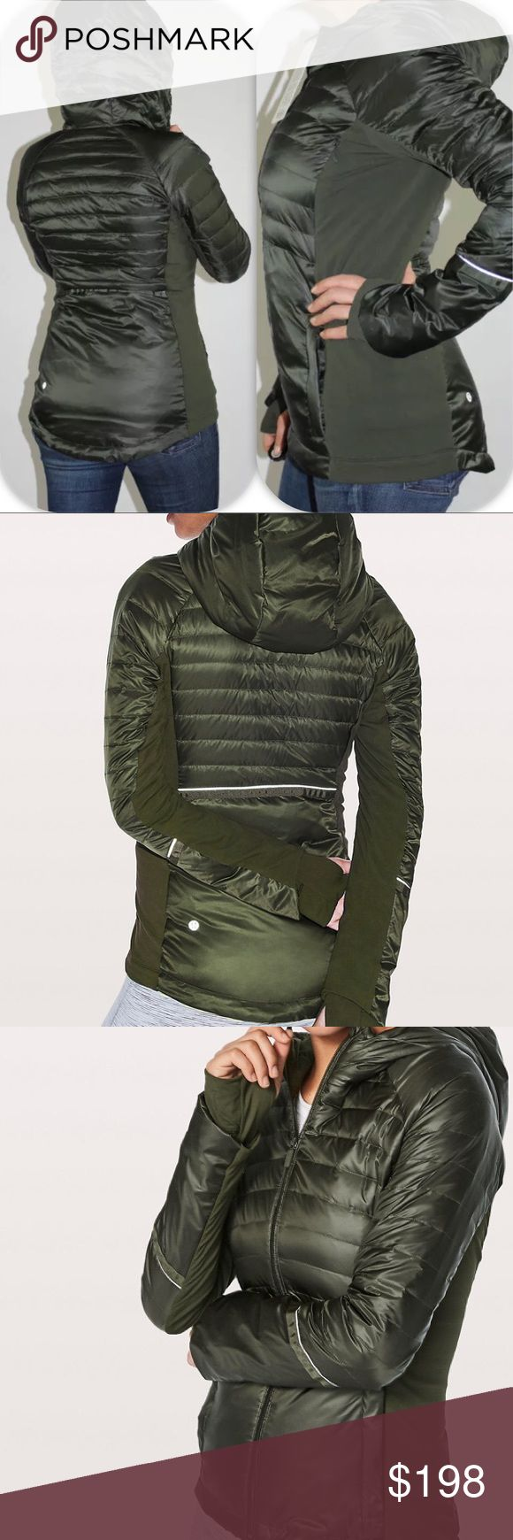NWT GATOR GREEN LULULEMON DOWN FOR A RUN JACKET 2 Brand: Lululemon athletica down for a run Jacket           Condition: New with tag || Size 2 || gator green   NO  TRADES  NO LOWBALL OFFERS  ⛔️NO RUDE COMMENTS  NO MODELING  ☀️Please don't discuss prices in the comment box. Make a reasonable offer and I'll either counter, accept or decline. lululemon athletica Jackets & Coats