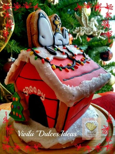 3D Snoopy Cookie