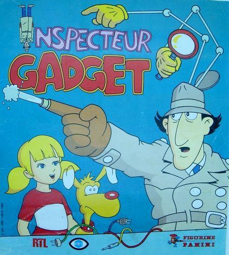album panini inspecteur gadget