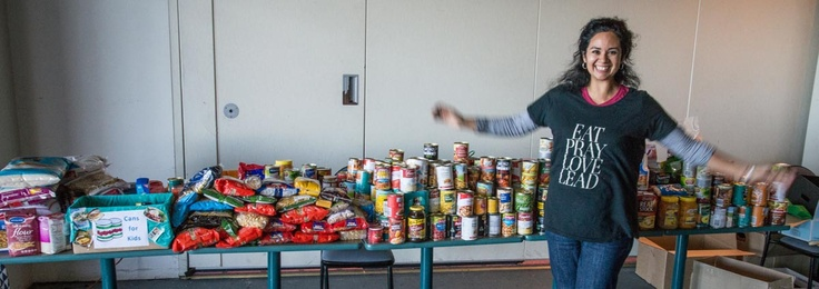 """Linda Munoz: """"Can the Kilos"""" was a community challenge in which 34 Illawarra locals lost 349kg and donated that weight in food to a local charity. #Wellness"""