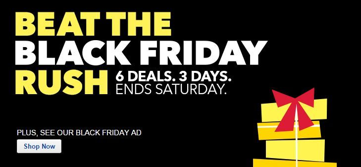 BestBuy: 6 Pre-Black Friday Deals LIVE NOW! *40″ TV for $199.99, iPad, iPod Touch, Skylanders, MORE!*
