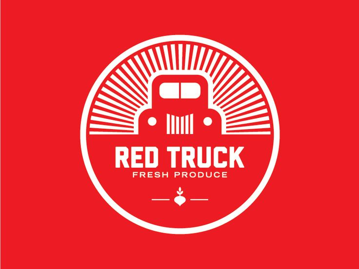Red Truck Logo