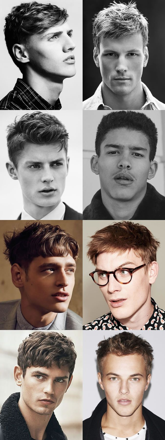 Men's Hairstyle Trends 2016 - Short and Choppy Hair