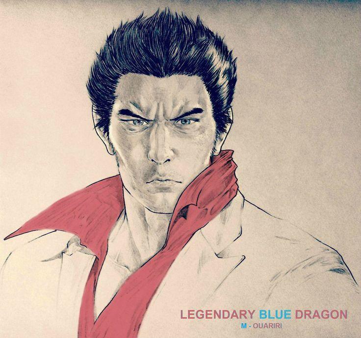 Legendary Blue Dragon - Kiryu, Kazuma by Saladin-777 on DeviantArt