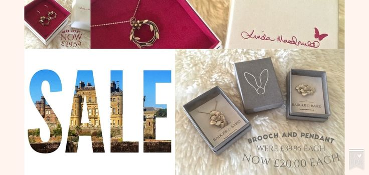 """""""Are you excited for #FashionWeek? So are we! To add that extra special finishing touch, visit us at Culzean Castle Gift Shop to view our in-store jewellery range and exclusive offers. On promotion this week are the fabulous pieces by Linda MacDonald and Badger & Baird. While stocks last!"""""""