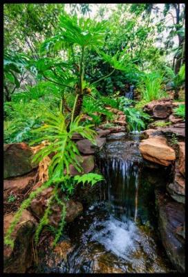 Waterfall - Motozi Lodge, Wedding Venue, Hartbeespoort Dam