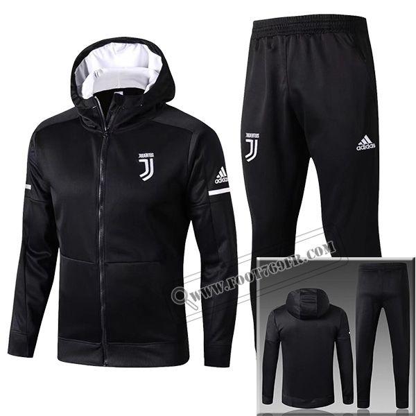 biggest discount first look where can i buy Ensemble Du Nouveaux Veste Survetement Juventus Capuche Noir ...