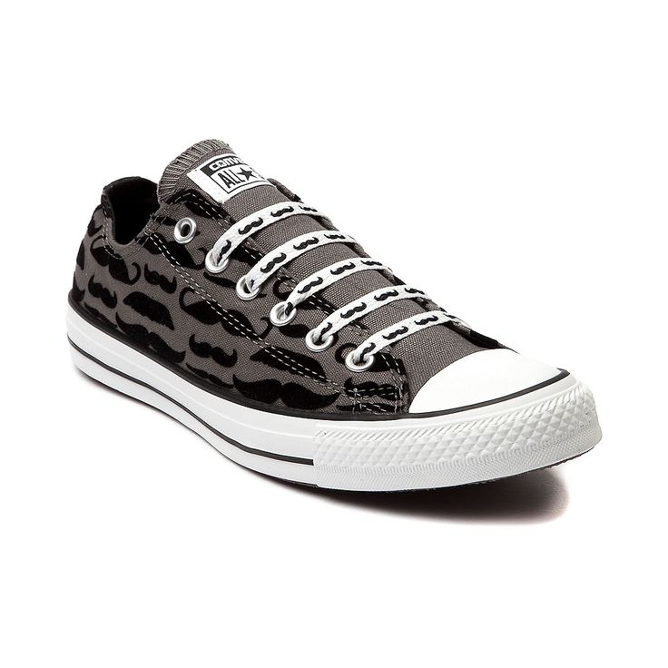 all star shoes | Converse All Star Lo Mustache Sneaker