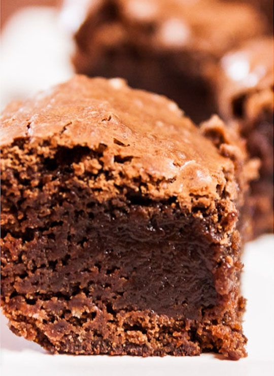 Extra Fudgy Brownies - OMG Chocolate Desserts