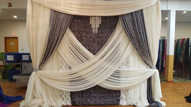 393 Best Wedding Backdrop Ideas Images On Pinterest Wedding Ideas Backdrops And Curtain