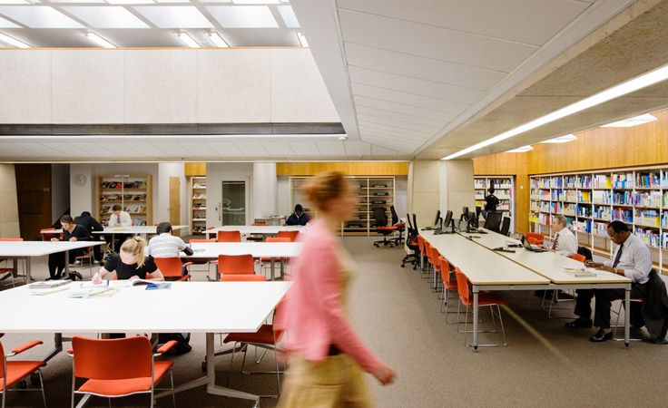 Bisset Adams - Guildhall Library. £1 million refurbishment of Guildhall Library in the City of London