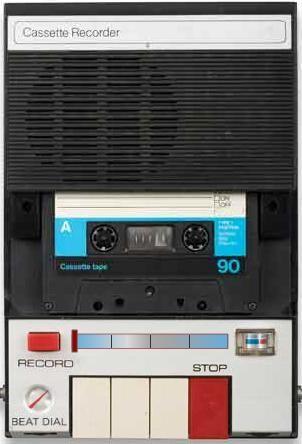 Kaset Çalar - Cassette Recorder (80'ler) - 20