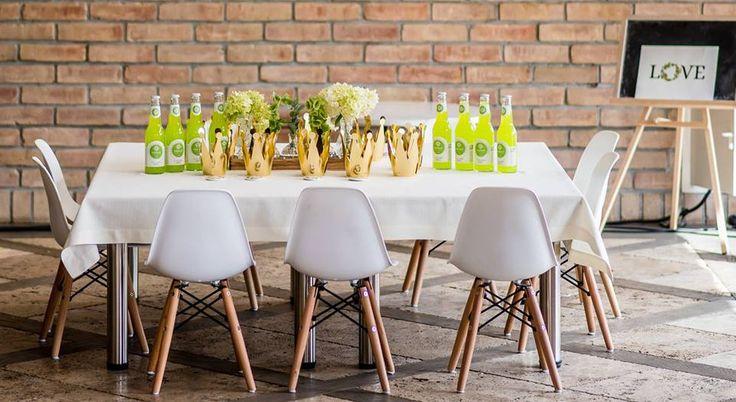 Krzesła Biagio w wersji mini w weselnej aranżacji w Hotelu Podlasie w Białymstoku