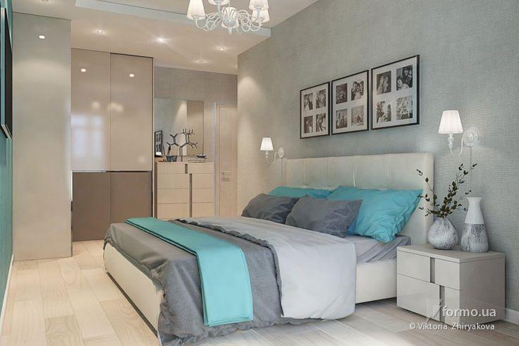 Спальня в нежных оттенках
