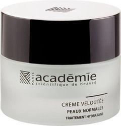 Crème Veloutée zorgt ervoor dat de huid er weer fris en gehydrateerd uitziet. Met o.a. appelwater, aloë vera, macadamia olie en karitéboter. #academiescientifiquedebeaute