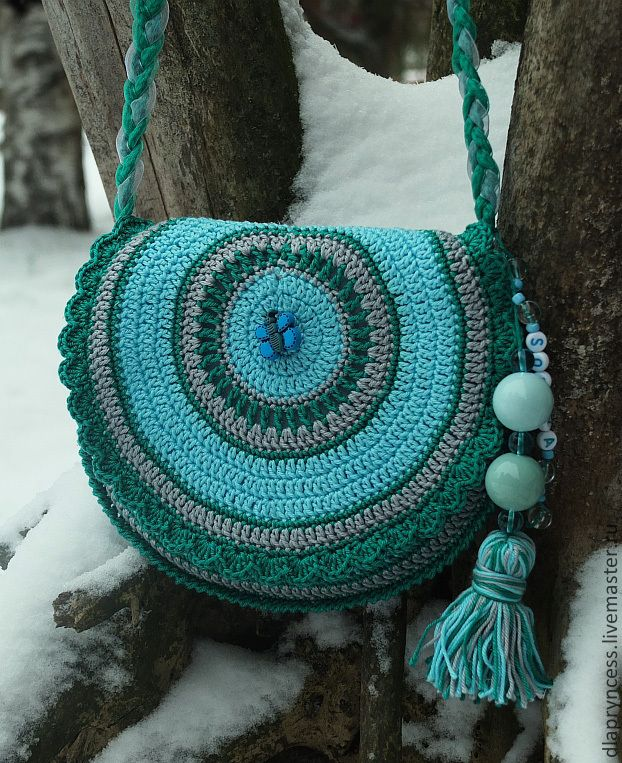 """Купить Сумочка для девочки """"София"""" - бирюзовый, сумка, детская сумка, именной подарок, подарок девочке"""