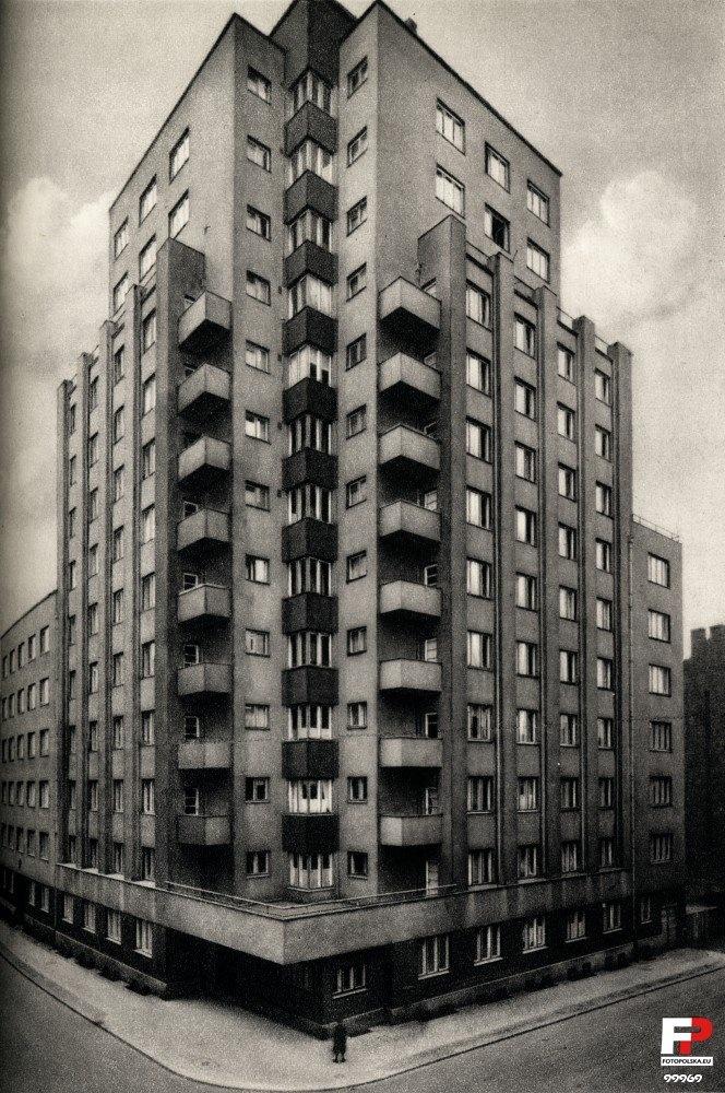 Drapacz Chmur (Skyscraper), Katowice. Poland, 14 storeys, 1934, Stefan Bryła. Flats and offices.