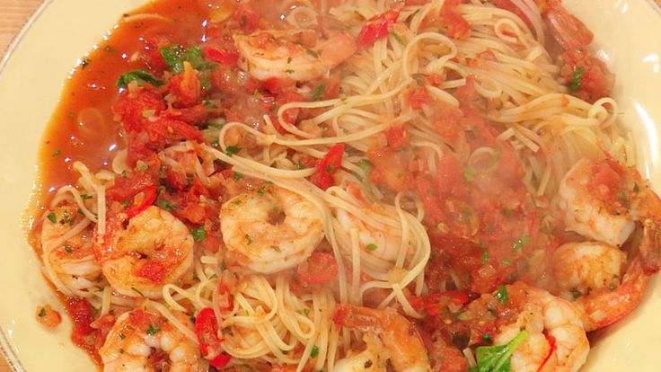 Rachel ray shrimp fra diavolo with linguine